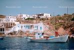 waterfront, homes, houses, Siphnos, Harbor, CEXV01P04_09.1722
