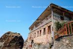 Variam Monastery, Meteora, Plain of Thessaly, Eastern Orthodox Monasteries, Cliff-hanging Architecture
