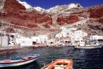 Harbor, Santorini, Cliff-Hanging Architecture, CEXV03P06_05