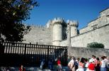 castle, Knights of St. John, Palace of the Grand Masters, Fortress, Rhodes, Turret, Tower, CEXV04P01_12