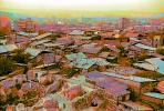 Roofs, homes, houses, shantytown, Yerevan