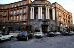 Parked Cars, Hotel Yerevan, building, automobile, vehicles