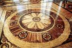 Parquet Floor, The Winter Palace, (Hermitage), Round, Circular, Circle, Ornate, Wooden, opulant, CGKV01P03_16