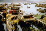 Boat City, Harbor, Old Tai Po NT, 1968, 1960s