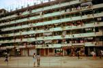 Apartments, Tenement Building, Housing, 1973, 1970s
