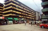 Wah Chai Street, Apartments, Building, Housing, Street Shops, 1973, 1970s