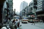 Street Scene, Doubledecker Trolley, Buildings, 1971, 1970s, Road, Street, CHHV01P10_04