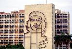 Che Guevara Wall Sculpture, Ministry of the Interior, Monument, landmark, Cuba , CICV01P07_19