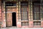 Doors, Windows, Doorway, entrance, Old Havana, Buildings, Sidewalk, CICV01P08_08