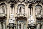 Angel Statues, Ornate Building, windows, opulant, CICV01P08_11