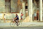 Old Havana, Buildings, Sidewalk, CICV01P08_14B