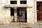 Old Havana, Buildings, Sidewalk, CICV01P08_15B
