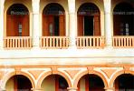 Old Havana, Buildings, Balcony, Arch, CICV01P08_16B