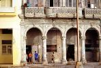 Old Havana, Buildings, Sidewalk, CICV01P08_17