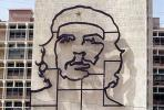 Che Guevara Wall Sculpture, Ministry of the Interior, Monument, landmark, Cuba , CICV01P09_10B
