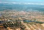 Aerial, roads, city, river, Santo Domingo, Dominican Republic