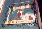 Stoners Sign, tall ship, rum maker, St. Thomas