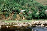 Village, jungle, river, rocks