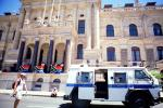 Armored Police Van, City Hall, Cape Town, government building, CKFV01P06_15