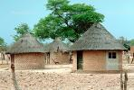 Thatched Roof Houses, Homes, Grass Roof, buildings, roundhouse, desert, building, Sod, CKZV01P02_14.1725
