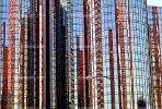Westin Bonaventure Hotel, built 1976, Glass, Windows, Reflection, Abstract, CLAV01P07_08.1726