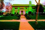Psychedelic House, Home, Mansion, Frontyard, Sidewalk, psyscape, CLAV01P09_06B.1726
