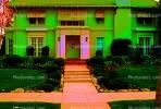 Psychedelic House, Home, Steps, Entryway, Door, Mansion, Frontyard, Sidewalk, psyscape, CLAV01P09_06C.1726