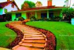 Mansion, Home, Frontyard, Psychedelic, Sidewalk, steps, psyscape, CLAV01P09_19B.1726