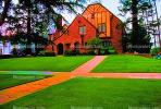 Mansion, Home, Frontyard, Psychedelic, Sidewalk, walkway, psyscape, CLAV01P10_01B.1726