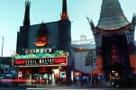 Twilight, Dusk, Dawn, neon sign, TCL Chinese Theatre, Cinema Palace