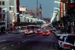 Twilight, Dusk, Dawn, cars, Hollywood Boulevard, CLAV02P05_09
