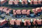Red Rooftops, street, suburbia, grid of homes, houses, buildings, CLAV03P03_08.1726