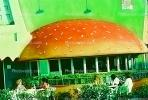 Melrose Avenue, hamburger, dome, restaurant, CLAV03P04_08