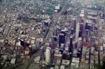 Downtown Los Angeles, Cityscape, Skyline, Buildings, Freeway, interchange, high rise