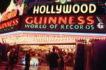 Hollywood Guinness World of Records Museum, neon sign, art deco, Hollywood Movie Theater building, marquee