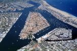 Harbor, Docks, Boats, rooftops, homes, houses, buildings, Islands, Beach, Sand, Ocean