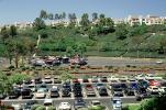 Parking Lot, Cars, bluff, condominiums, buildings, Mission Viejo, Car, Automobile, Vehicle, CLAV06P10_01