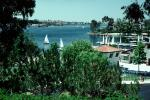 Docks, Sailboats, Homes, Lakeshore, Lake, water, buildings, Mission Viejo, CLAV06P10_05