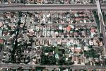 homes, houses, rooftops, urban texture, buildings, freeway