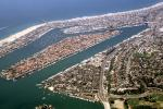 Docks, Boats, harbor, Island, rooftops, PCH, Pacific Coast Highway, sand, beach, pier, CLAV06P12_07