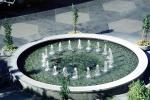 Round, Circular, Circle, Water Fountain