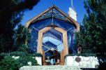 Wayfarers Chapel, Glass Church, Palos Verdes Peninsula, Los Angeles, California, CLAV08P15_13