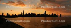 Willis Tower, Panorama, skyline, cityscape, buildings, skyscrapers, CLCD01_239