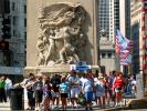 """Defense, Regeneration, The Pioneers, and The Discoverers"", statue, statuary, Sculpture, art, artform, bas-relief, Michigan Avenue bridge, CLCD02_186"