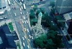 Water Tower, 900 North Michigan, cars Michigan Avenue, intersection, street, CLCV01P04_10