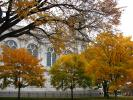St Mary Basilica, Minneapolis, Roman Catholic minor basilica, autumn
