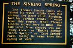 The Sinking Spring, Signage