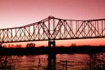 Chester Bridge, Route-51, Illinois Route 150, Perryville, Missouri, Chester, Illinois, CLIV01P03_11B