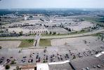Parking Lots, Shopping Center, mall, suburbia, suburban, buildings, CLKV01P12_03.1711