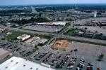 Parking Lots, Shopping Center, mall, suburbia, suburban, buildings, CLKV01P12_04